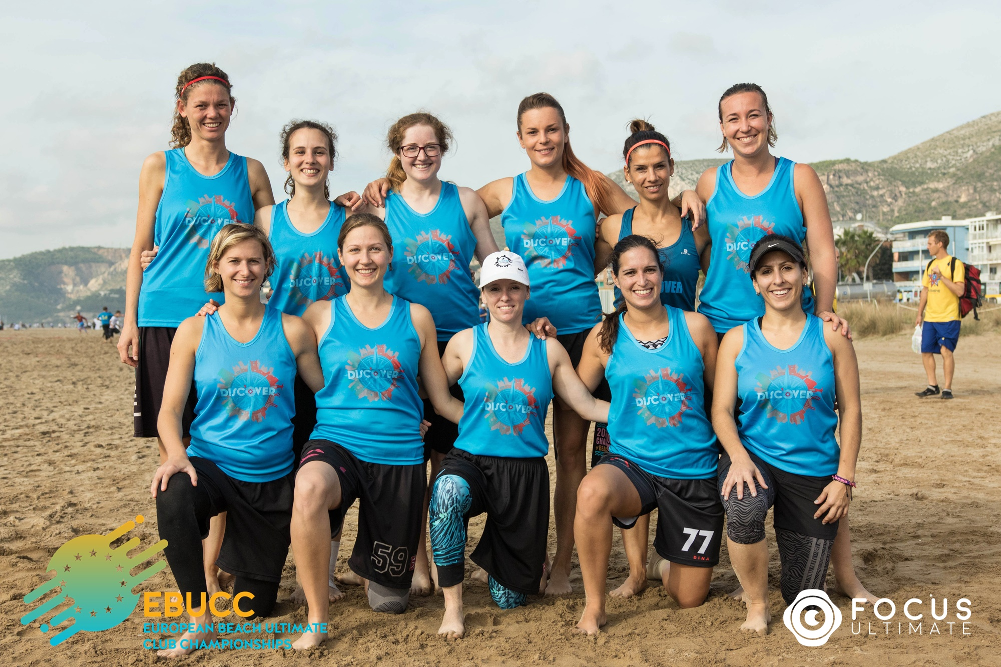 Team picture of Disc'Over Lisboa Women